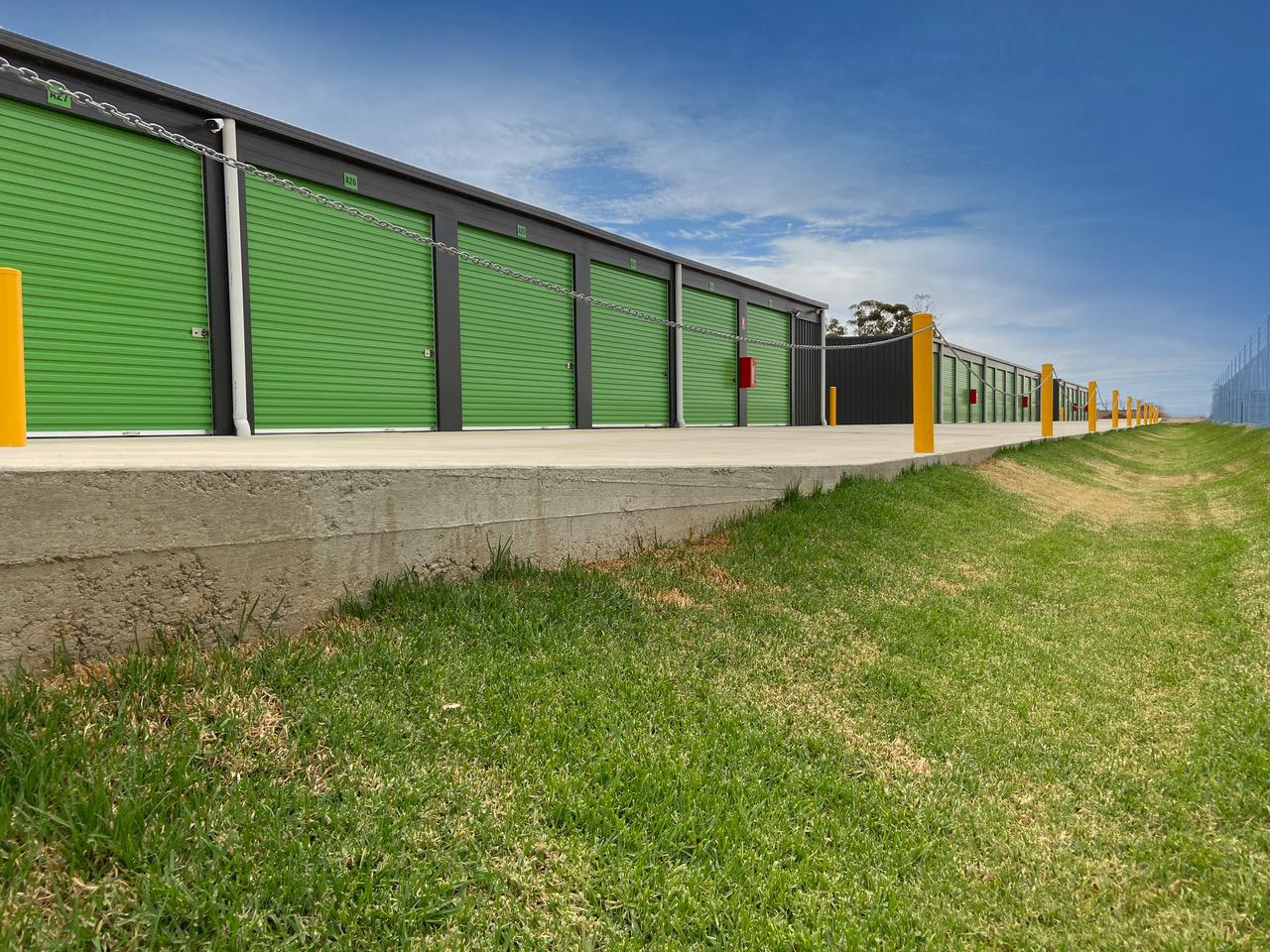 exterior of storage facility